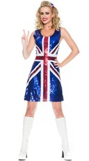 Union Jack Brit Costume