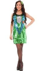 Sequin Luck O' The Irish Costume