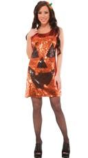 Sequin Pretty Pumpkin Costume