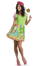 Ladies Candyland Costume