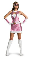 Sexy Pink Power Ranger Costume