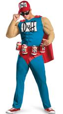 Classic Duff Muscle Man Costume