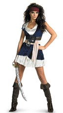 Women's Jack Sparrow Costume