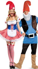 Lawn Gnome Couples Costume
