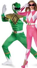 Power Rangers Couples Costume