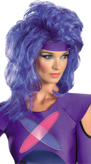 Purple Jem Wig
