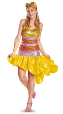 Women's Big Bird Costume