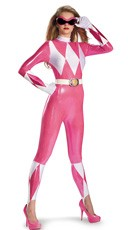 Pink Power Ranger Bodysuit Costume