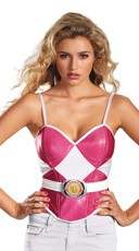 Pink Power Ranger Bustier