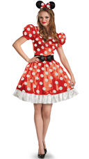 Classic Adult Minnie Mouse Costume