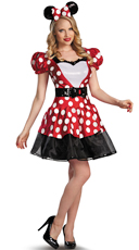 Glam Minnie Mouse Adult Costume