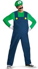 Men's Deluxe Luigi Costume