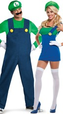 Green Plumbers Couples Costume
