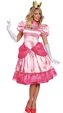 Deluxe Sweet Peach Princess Costume