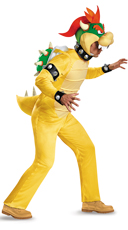 Men's Deluxe Bowser Costume