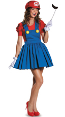 Sexy Mario Brother Costume