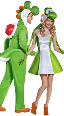 Yoshi Couples Costume