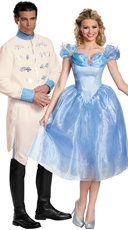 Prince Charming and Cinderella Couples Costume
