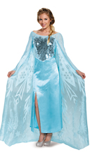 Deluxe Frozen Queen Elsa Costume