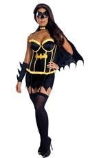 Deluxe Batgirl Corset Costume