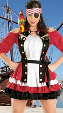 Shot Glass Pirate Costume
