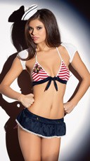 Sailor Lingerie Set