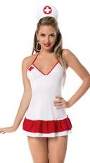 Little Naughty Nurse Costume