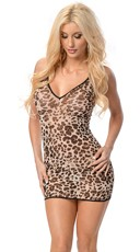 In The Wild Animal Print Chemise