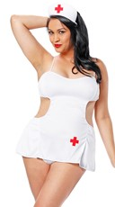 Plus Size Hot Pocket Nurse