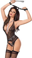 Make It Hurt Bustier Set with Accessories