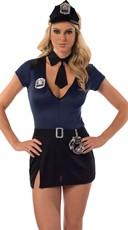 Criminal Scandal Cop Costume