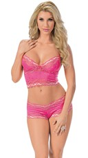 Steal My Heart Cami with Boyshort Set
