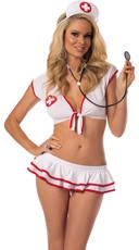 On Call Nurse Lingerie Costume