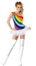 Sexy Rainbow Costume