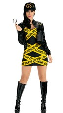 Sexy CSI Costume