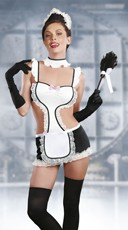 Mistress Maid Lingerie Costume