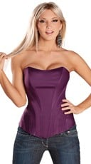 Sweetheart Corset with Side Boning