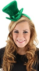 St. Patrick's Day Mini Top Hat