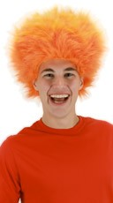 Fuzzy Orange Wig