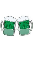 St. Patrick's Day Beer Mug Glasses