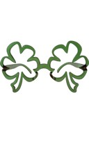 Funky Shamrocks Glasses