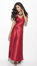Long Satin Sleep Gown