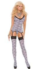 Zebra Print Cami Set