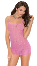 Swirl Lace Mini Dress
