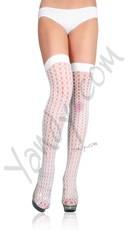 Lycra Crochet Thigh Highs