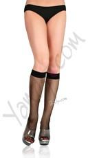 Fishnet Knee High Stockings
