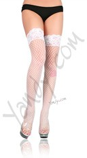 Industrial Net Thigh High Stockings