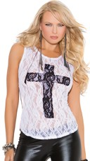 Lace Cross Tanktop
