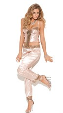 Champagne Cami and Pants Set