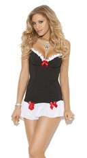 Black and White Chemise